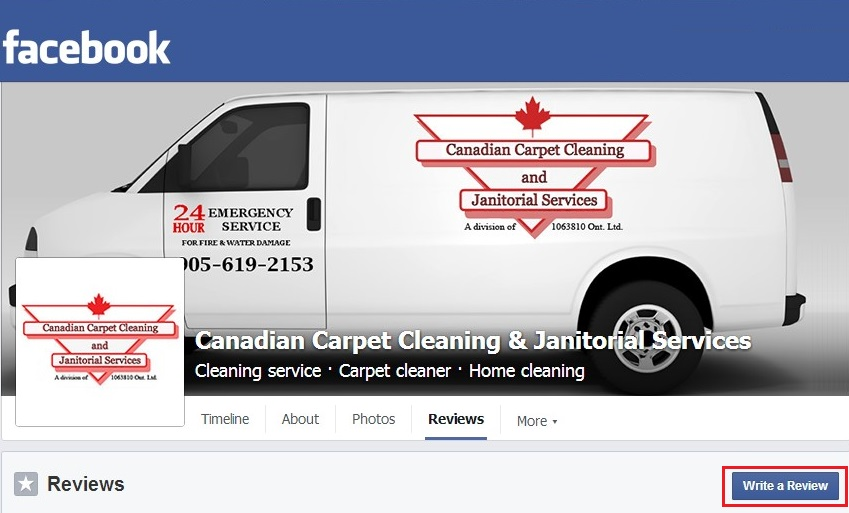 Review Canadian Carpet Cleaning - Toronto & GTA Cleaning services