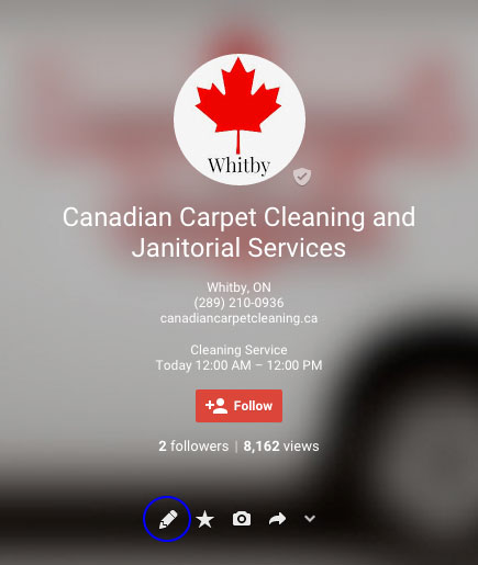 Google Plus Reviews on Canadian Carpet Cleaning
